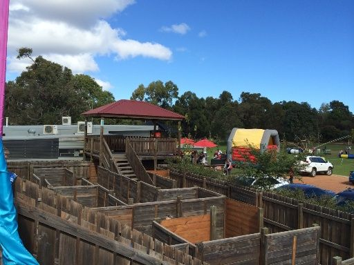 Yallingup Maze - Great place for the kids to play and explore, and includes a amazing nature playground. Find things to do, wineries, breweries and more near your current location in Margaret River and get a map to take you there with the Kids Around Perth App available in the App Store and Google Play.