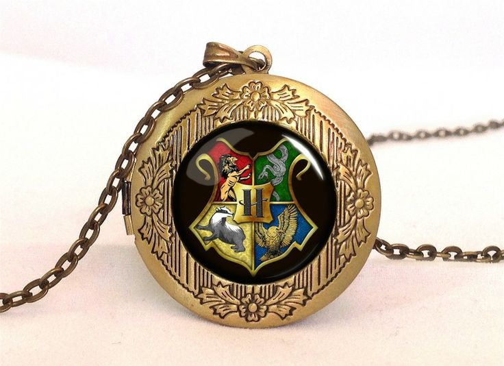 Harry Potter HOGWART Locket, 0344LPB from EgginEgg by DaWanda.com