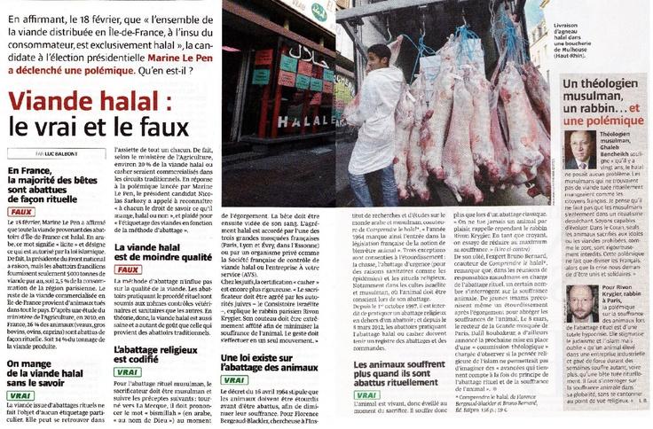 La viande halal : le vrai et le faux