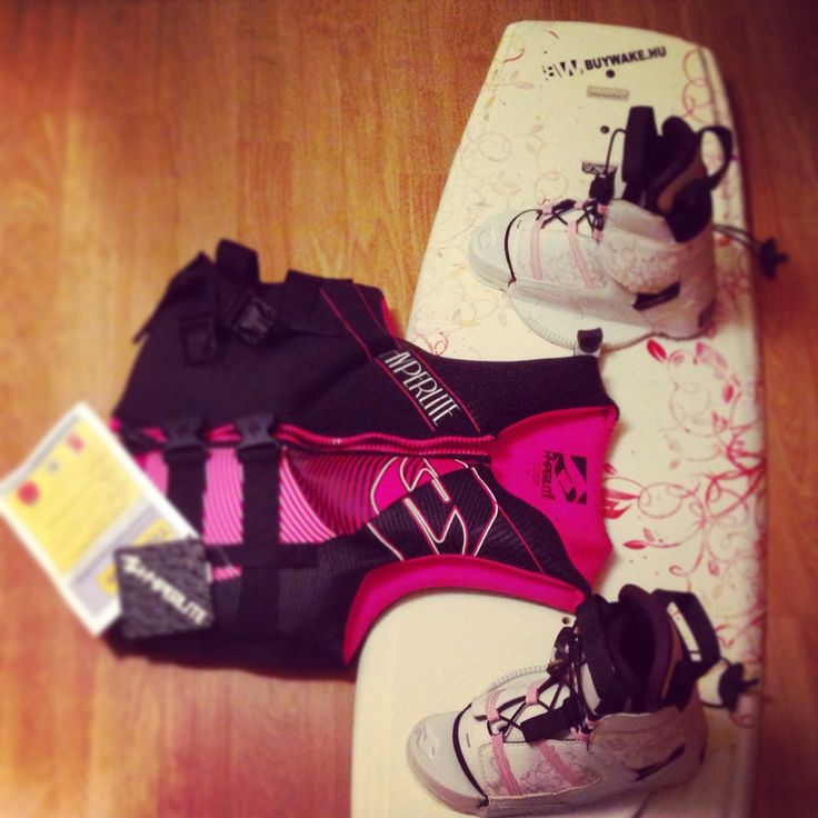 My new wakeboard