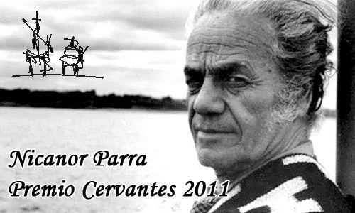 NICANOR PARRA. Leemos sus poemas en el mes de octubre, aprovechando la celebración del centenario de su nacimiento.