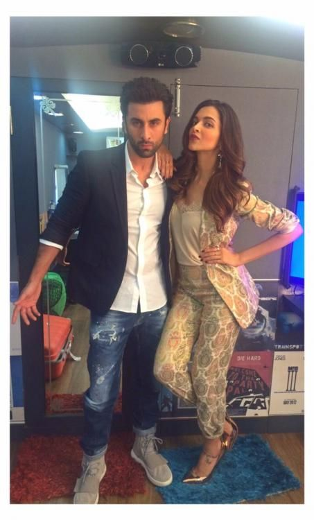 Whatsay! DP-RK look uber-chic at Tamasha's promotions! | PINKVILLA