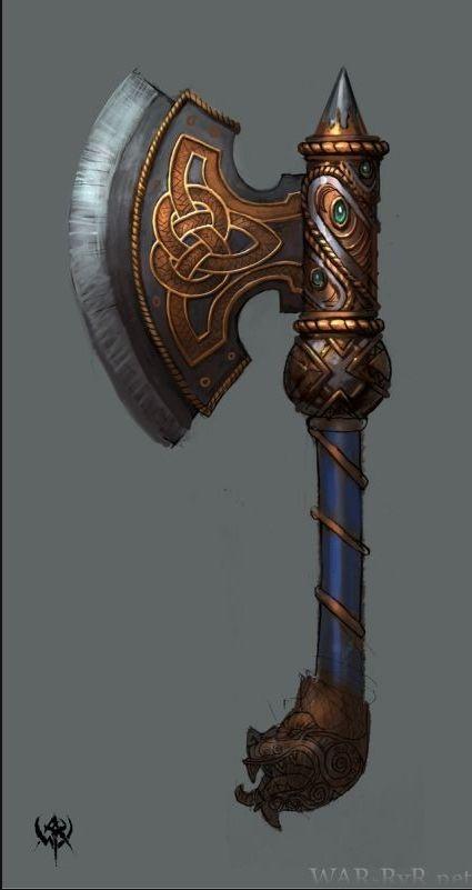 isso é um bumerangue ou um machado ?