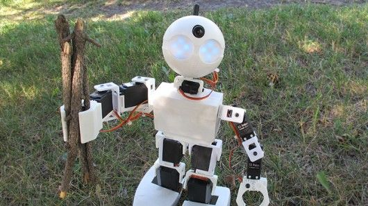 "Ez-Robot, a small company based in Calgary, Canada, has introduced its ""Revolution"" line of robots with modular parts, easy-to-use features, and snap-together mechanics. The line is made up of three new robot kits: a humanoid two legged walker, a spider, and a rover."