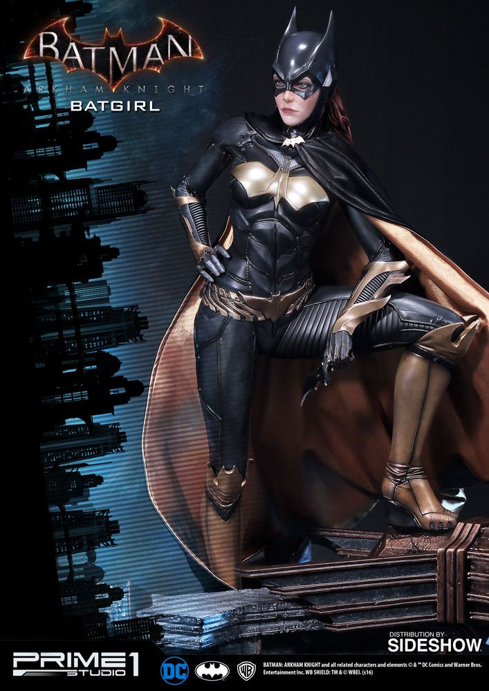 The Batgirl Polystone Statue is available at Sideshow.com for fans of Prime 1 Studio and DC Comics Batman: Arkham Knight.