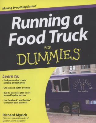 "Whether you're the owner of an existing food truck business or interested in starting your own, here's help to find your food niche, create a menu and set prices. Learn how to choose and outfit a vehicle, the rules of business on the road, kitchen, safety and sanitation, insurance and licensing requirements, using social media to market your business and other great ideas, including 10 Tips for Preventing Food Truck Failure. See more books on my board ""Street Food & Food Trucks."""