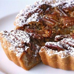 Пирог с орехами пекан и кленовым сиропом