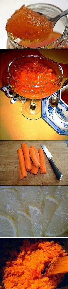 Морковно-лимонное варенье / Едальня
