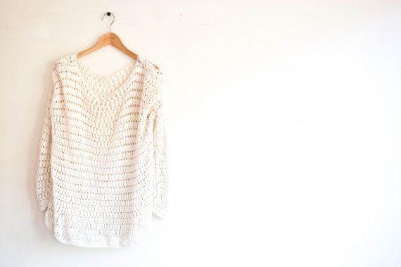 CROCHET PATTERN  DIY  Loose fit sweater crochet by joyofmotion