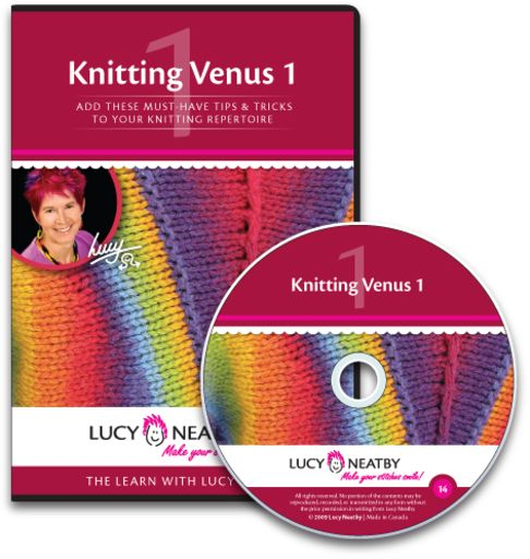 Knitting Venus 1 The Venus series includes some rather sophisticated but lovely techniques to expand your knitting expertise, as well as all the details you need to know to make the fast-knitting ingeniously-engineered Venus Cardigan.