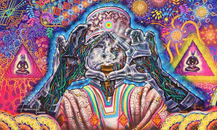 39 Psychedelic & Visionary Art Drawings and Paintings