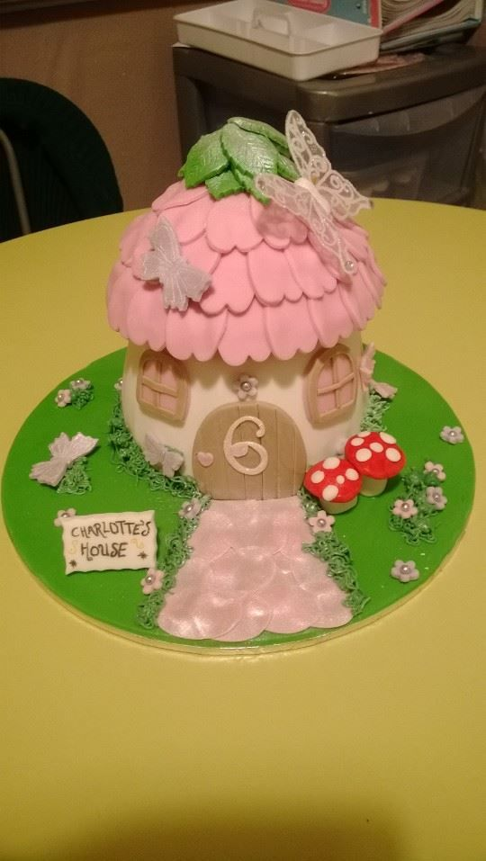 My fairy house cake l made :)