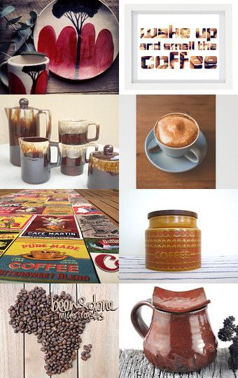 Wake up to the smell of coffee by Stuart McWilliam on Etsy--Pinned with TreasuryPin.com