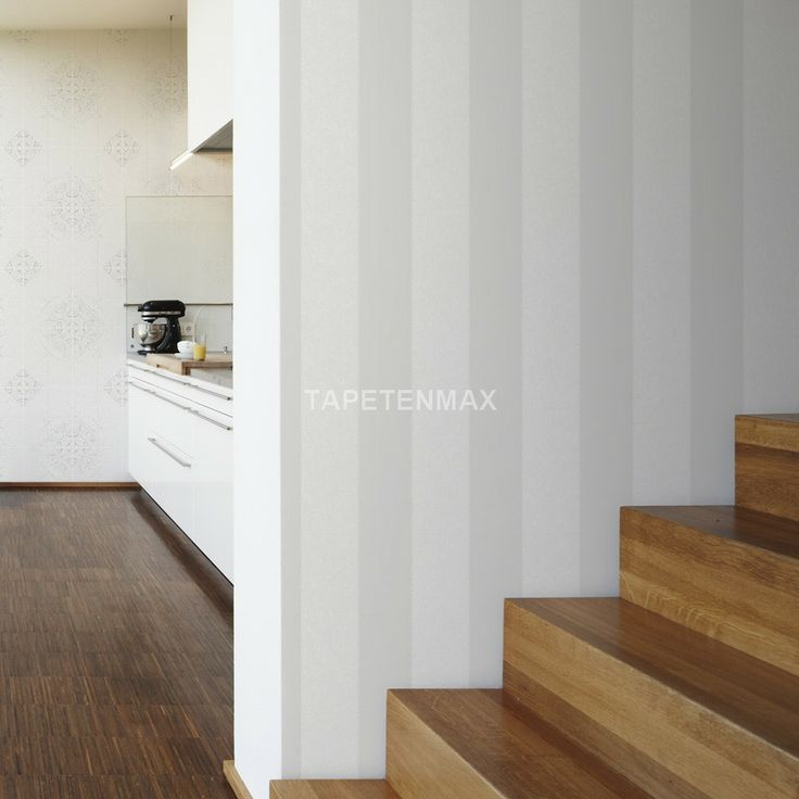Tapete weiß silber gestreift  15 besten Tapete Bilder auf Pinterest | Tapeten, Ideen und Farben