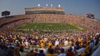 SEC Bucket List #1: Step foot into Tiger Stadium & brave every element & the crowds.