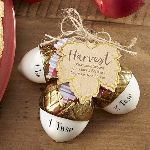 560 best diy wedding favors welcome baskets guest books images a fall wedding favor that can be used year round this set of three white junglespirit Image collections