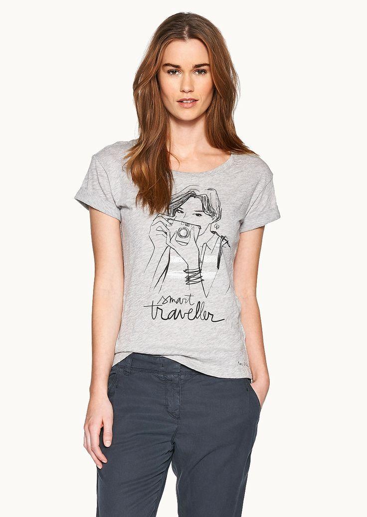 Damen T - Organic T-Shirt - Shirts / Tops - Marc O'Polo - Women - Bekleidung
