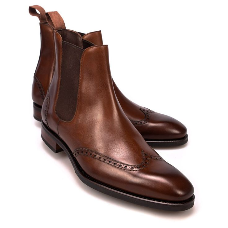 cizme chelsea 16 #brogue #chelsea #boots #carmina