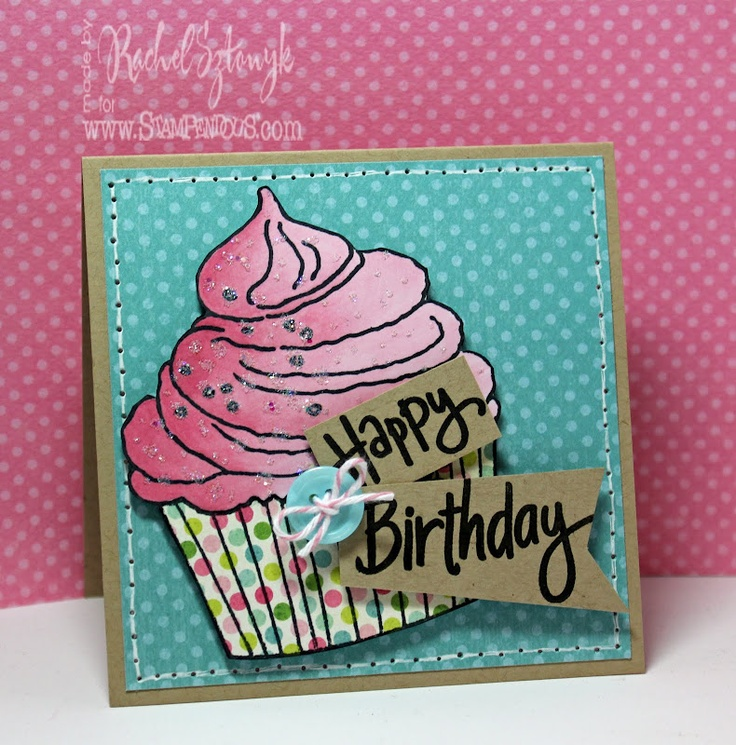135 best Cards Stampendous Stamps images – Jumbo Birthday Cards