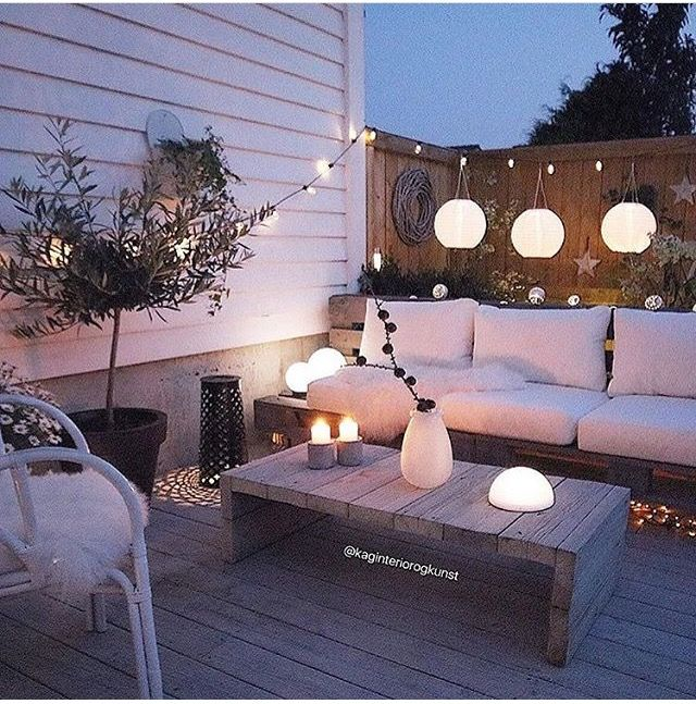 Beautiful place to sit in evening