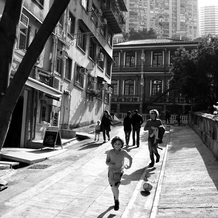 """""""A Boy and His Football"""" Shot in Hong Kong by Beren Davis"""