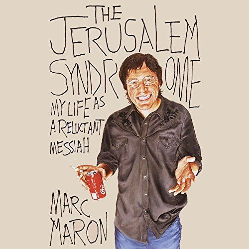 """Another must-listen from my #AudibleApp: """"The Jerusalem Syndrome"""" by Marc Maron, narrated by Marc Maron."""