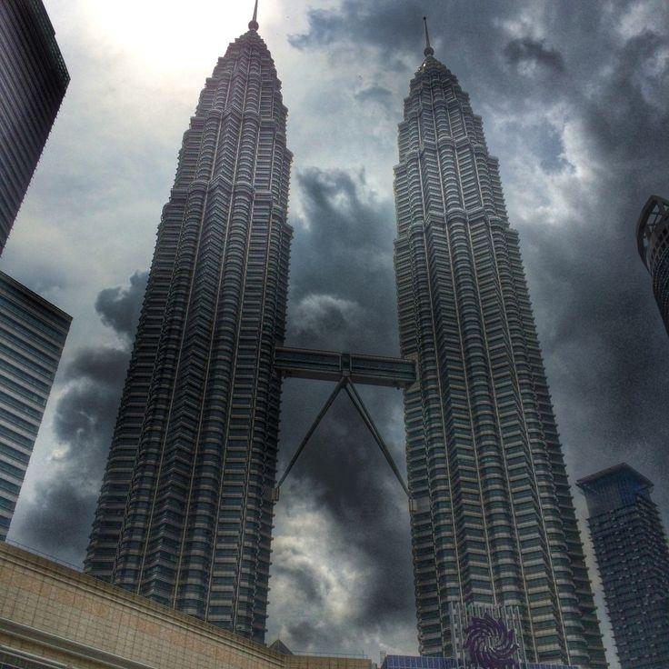 Куала Лумпур. Башни Петронас #199euro