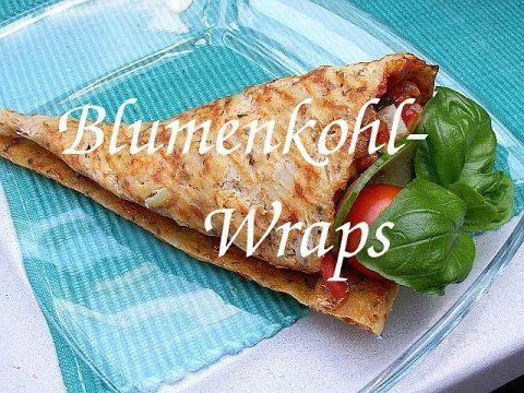 HCG-21-Tage-Diät Blumenkohl Wraps - YouTube