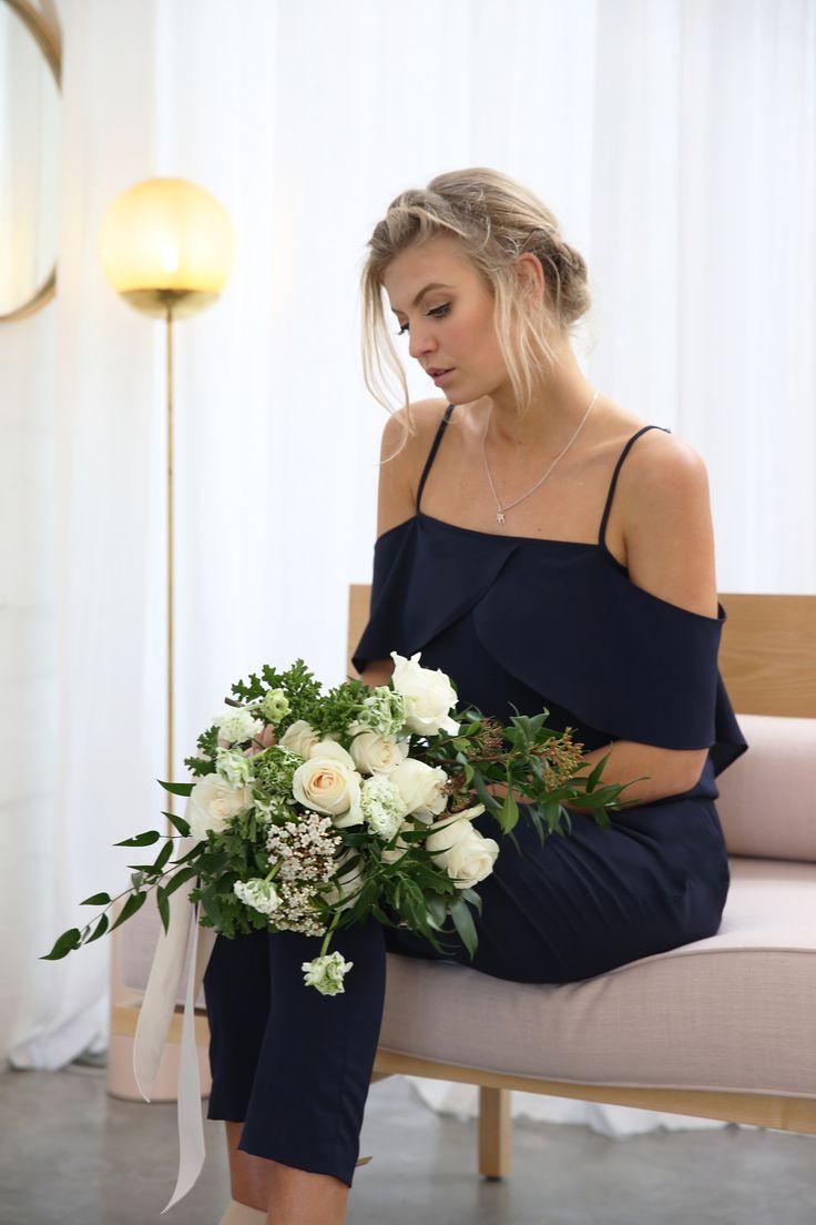 azalea jumpsuit // moochi bridesmaid