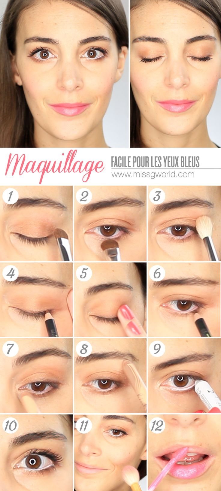 Les 329 Meilleures Images Propos De Make Up Sur Pinterest Smoky Eye Too Faced Et Eyeliner