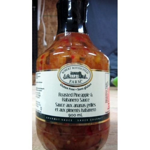 Roasted Pineapple Habanero Sauce (Costco): This is great ...