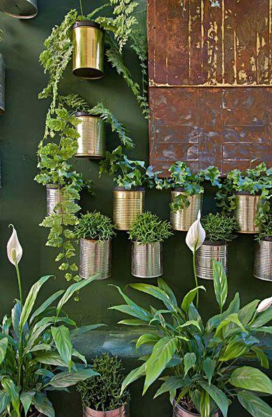 vaso de lata cobre pendente - Pesquisa Google