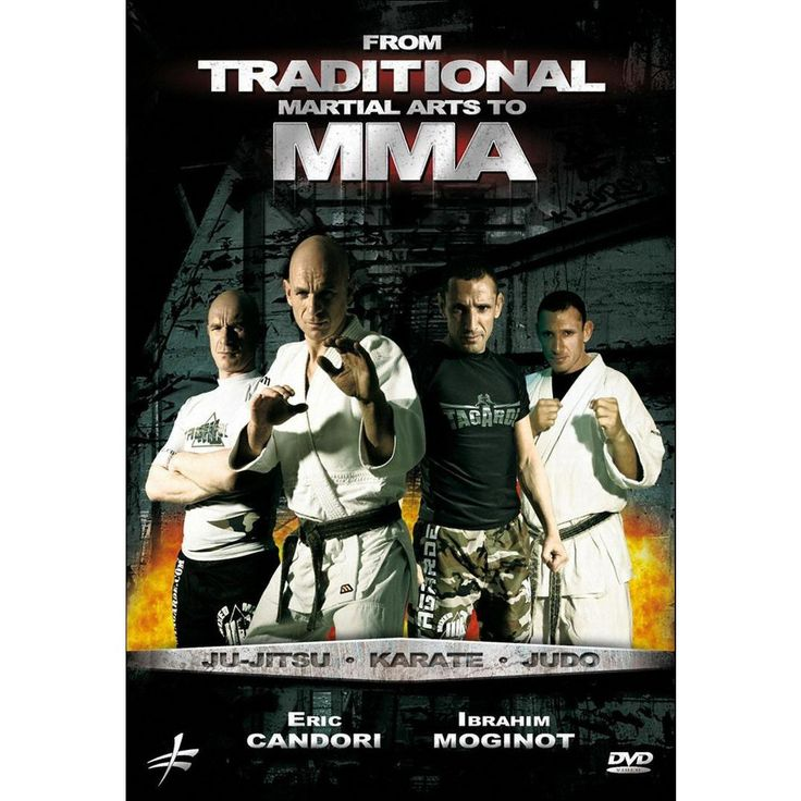 From Traditional Martial Arts to Mma: Ju-jitsu, Karate, Judo (dvd_video)