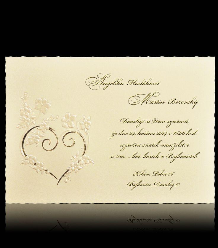 texty na svadobné oznámenia - Hľadať Googlom