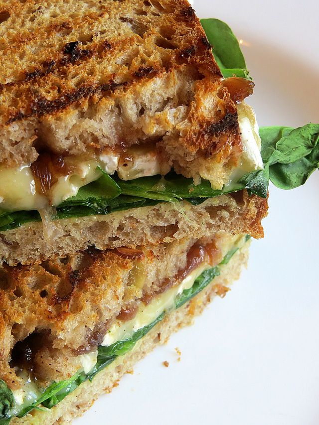 ... Grilled Parisian Sandwich + a recipe for Caramelised Red Onion Chutney