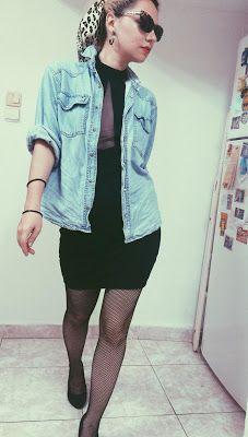 "Ana Siesta : Retro Me or ""2 ways to wear bodycon mini dress"" :)"
