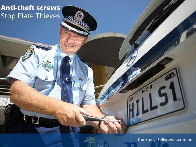 Install Smart Anti-Theft Screws & Avert Plate Thefts