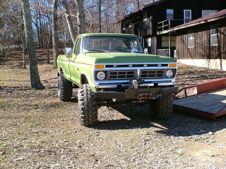 Sweet Truck  1976 F250 4x4 highboy