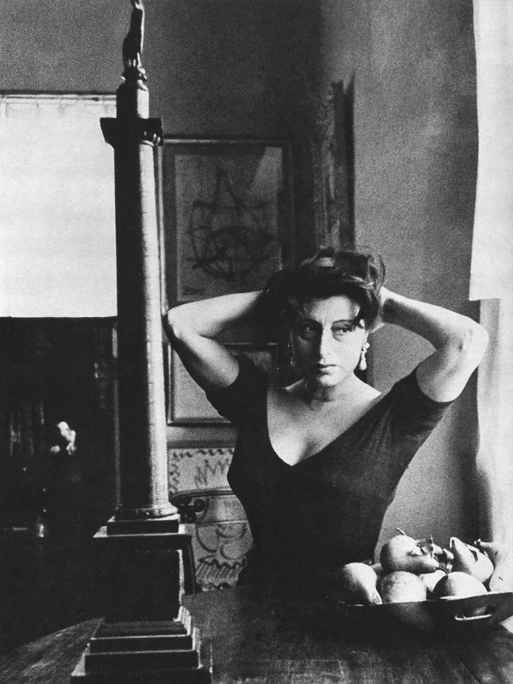 Anna Magnani by Sanford H. Roth, 1960
