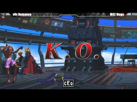 CEO 2012 Tournament King of Fighters XIII Losers Finals - vVv Romance vs MCZ Mago part 1 #KOFXIII