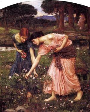 Gather ye Rosebuds while ye may 1909  John William Waterhouse