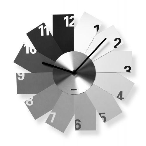 La belle #horloge murale monochrome designée par Kazunori #Tashima  Prix 52 euros  #deco #style