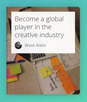 My goal is to become a global player in the creative industry. I would love to work with people who inspire me and work on sexy projects I believe in. Slowly starting and building my own shop is always in the back of my mind.  In this list you'll find articles that help me along the way. It's about defining the industry, starting projects, making ideas reality and working more productive and efficient. And who knows what I think is useful. #CreativeIndustry
