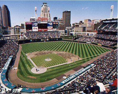 AL Central: Progressive Field Home of the Cleveland Indians - Check