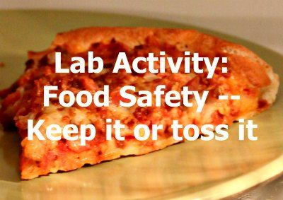 This activity provides a hands-on way to review food safety rules using real…
