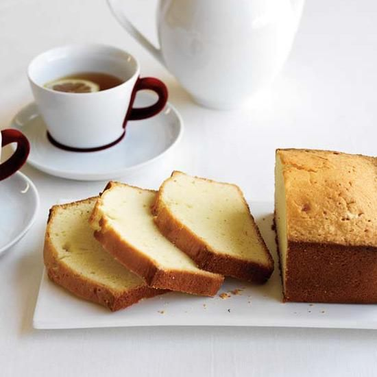 "Jacques Pépin's Favorite Pound Cake | The French call pound cake quatre-quarts (""four-fourths"") because it is made with equal parts flour, sugar, eggs and butter. Jacques Pépin's mother, aunt and cousin all have their versions. He likes to fold in candied citrus peels to make a French fruit cake; he also loves plain slices dipped in espresso."