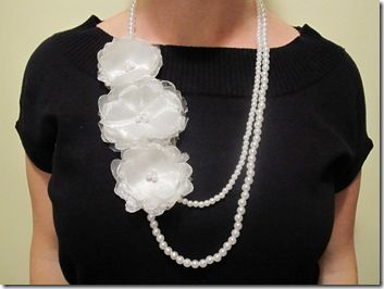 Jewelry Making | Anthropologie knock off Bonheur necklace