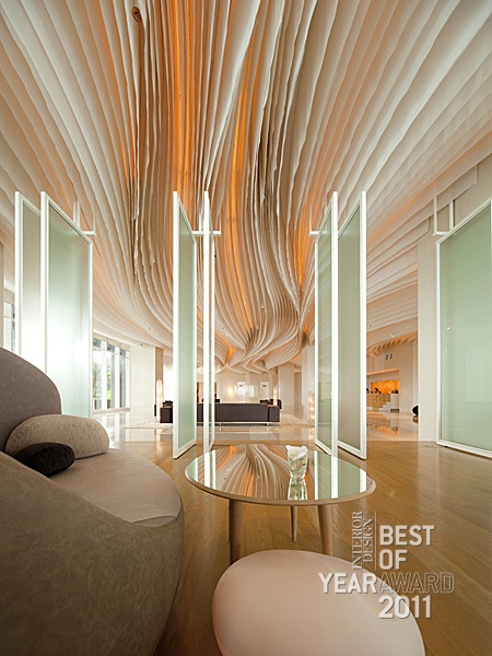 Winner best of 2011 hospitality lounge bar lobby and for Piattaia design
