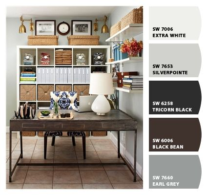 Home Office Paint Colors From Chip It By Sherwin Williams