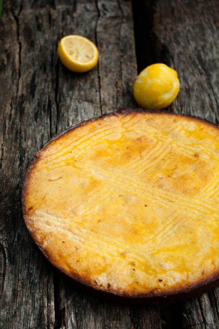 Galette basque au citron